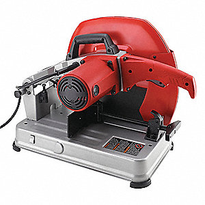 "3.5 HP Chop Saw, 14"" Blade Dia., 1"" Arbor Size,  120 Voltage"