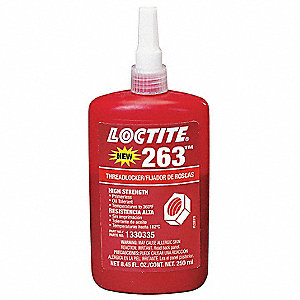 Primerless Threadlocker 263,250mL,Red