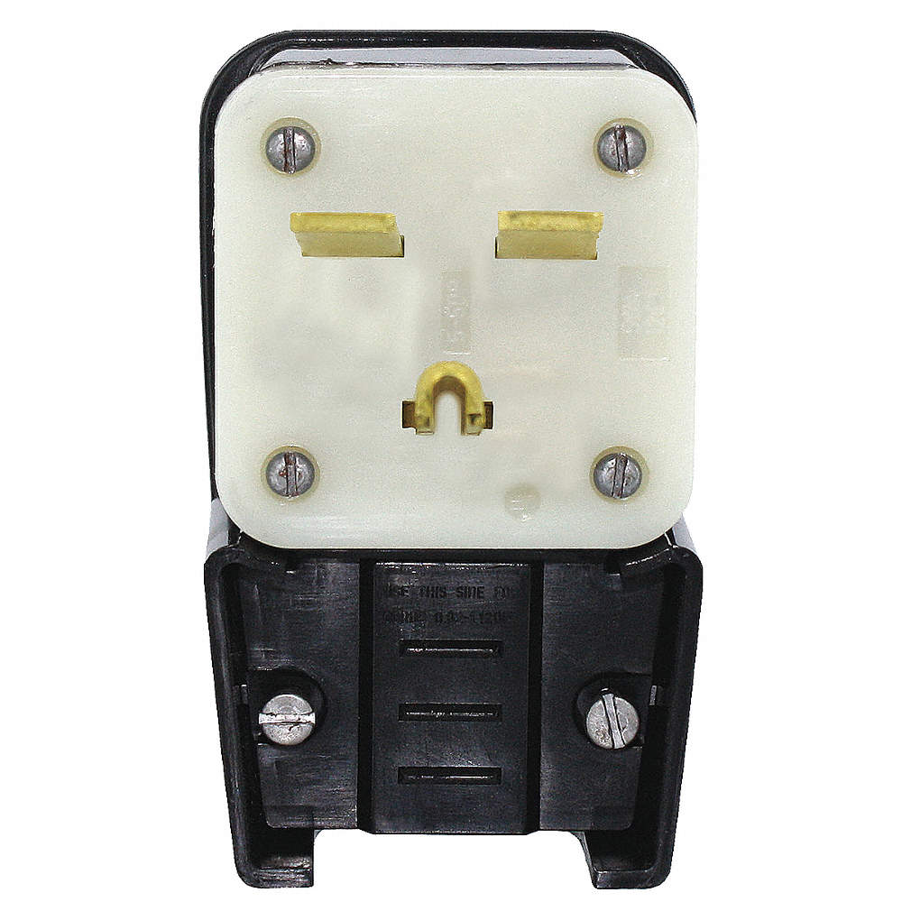 Leviton 30a Industrial Grade Angle Straight Blade Plug Black White 220v Wiring Zoom Out Reset Put Photo At Full Then Double Click