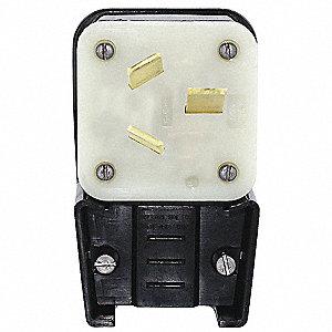 PLUG,HIGH AMP ANGLE,10-50P,125/250V