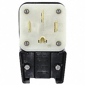 PLUG,HIGH AMP ANGLE,14-50P,125/250V