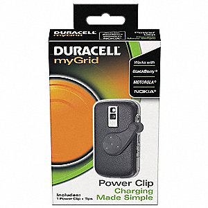 Charging Adaptor Kit for Mini and Micro USB Devices and Duracell Charging Pads&#x3b; Charges Up To (1) De