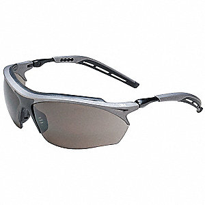 Maxim  GT Anti-Fog Safety Glasses, Gray Lens Color