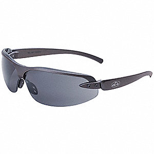 OCC  1200 Anti-Fog Safety Glasses, Gray Lens Color