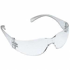 3m virtua uncoated safety glasses clear lens color 5jdw7 11228