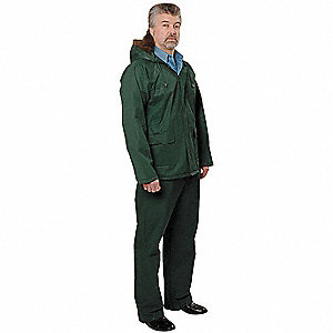 Unisex 2 Piece Rainsuit w/Hood