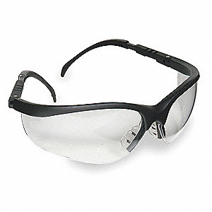 Nome  Scratch-Resistant Safety Glasses, Clear Lens Color