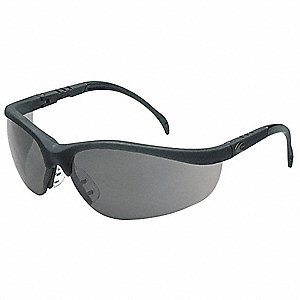 Nome™ Scratch-Resistant Safety Glasses, Gray Lens Color