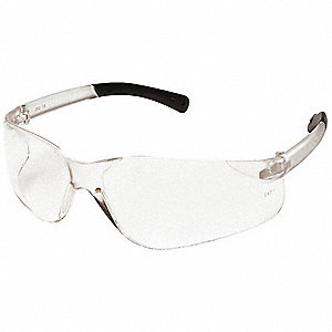 Wasko  Scratch-Resistant Safety Glasses, Clear Lens Color