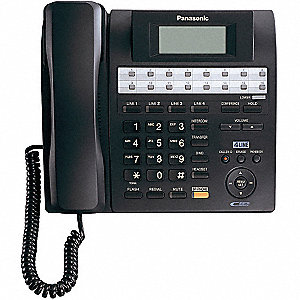 4-Line Expandable Corded Phone System