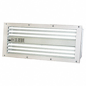 120/277 VAC Paint Booth Light Fixture, 54 Watts