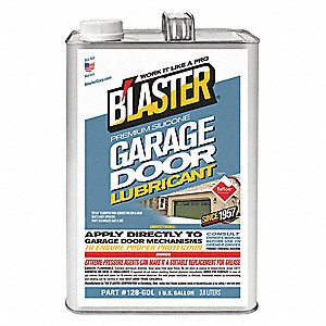 Garage Door Lubricant, 0°F to 120°F, Silicone, 1 gal. Can