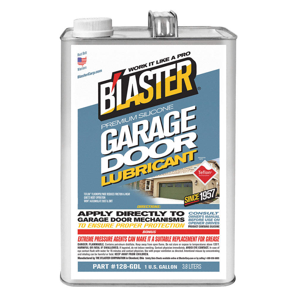 Blaster Garage Door Lubricant 0f To 120f Silicone 1 Gal Can
