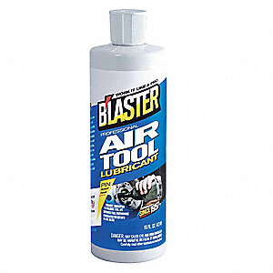 Air Tool Lubricant, 16 oz. Container Size
