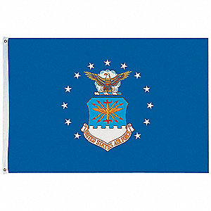 Armed Forces Flag, US Air Force, 5 ft. Height, 8 ft. Width