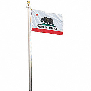 California State Flag, 5 ft. Height, 8 ft. Width