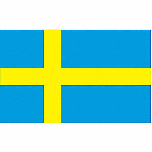 Sweden Flag,3x5 Ft,Nylon