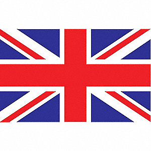 United Kingdom Flag,5x8 Ft,Nylon