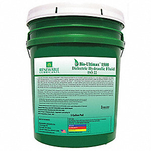 ISO 22, Hydraulic Oil, 5 gal. Container Size
