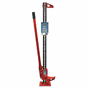 Farm Mechanic Service Jack with Lifting Capacity of 3-1/2 tons