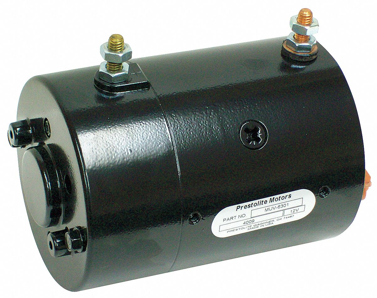 DC Wound Field Motor,  1 3/5 HP,  Motor Application Hydraulic Tail Gate Lifts,  Nameplate RPM 2,800