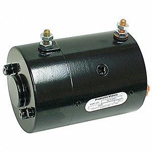 "1-3/5 Wound Field DC Wound Field Motor,CW/CCW Rotation,6-3/4"" Overall Length"