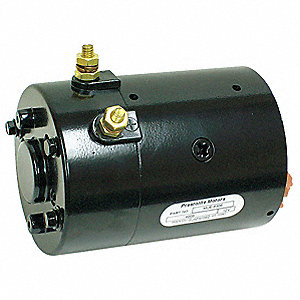 "1-3/5 Wound Field DC Wound Field Motor,CWSE Rotation,7"" Overall Length"