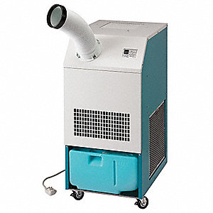 Commercial/Industrial 120V Portable Air Conditioner, 10,000 BtuH Cooling