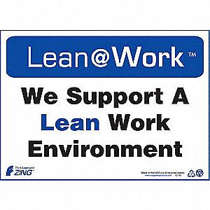 LEAN SIGN,LEAN WORK ENVIRONMENT