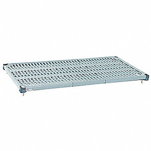 Wire Shelving,W36,D18,Polymer,PK4