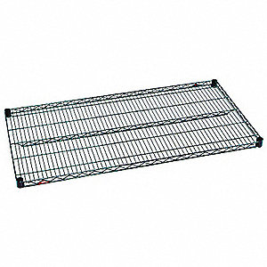 Wire Shelf,1-1/8 H x 72 W x 24 in. D,PK5