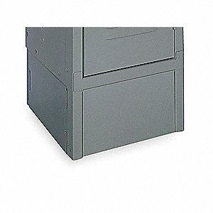 Locker Front Base,Pk3