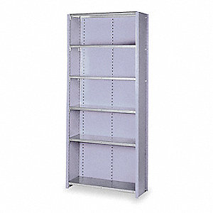 Shelving,Closed,Starter,Steel,84""