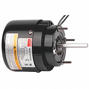 1/20 HP, HVAC Motor, Shaded Pole, 1550 Nameplate RPM, 230 Voltage, Frame 3.3