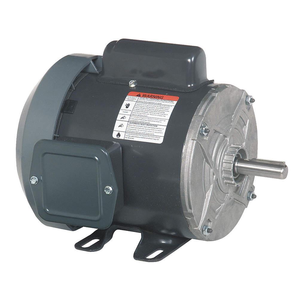 dayton 1 3 hp general purpose motor,capacitor start,1725 nameplate