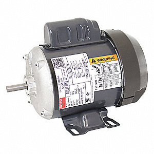1/4 HP General Purpose Motor,Capacitor-Start,1725 Nameplate RPM,Voltage 115/208-230,Frame 48