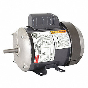 1/3 HP General Purpose Motor,Capacitor-Start,1725 Nameplate RPM,Voltage 115/208-230,Frame 48