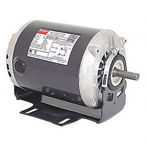 1/2 HP Belt Drive Motor, Split-Phase, 1725 Nameplate RPM, 115 Voltage, Frame 56Z