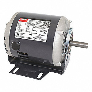 1/4 HP Belt Drive Motor, Split-Phase, 1725 Nameplate RPM, 115 Voltage, Frame 56