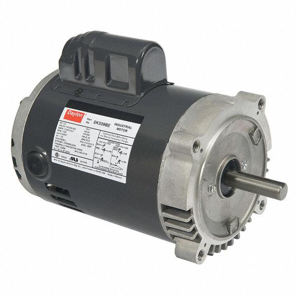 Dayton 1 3 Hp General Purpose Motor Capacitor Start 1725