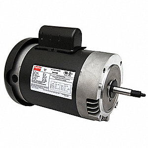 2 HP Jet Pump Motor, Capacitor-Start, 3450 Nameplate RPM, 115/230 Voltage, 56J Frame