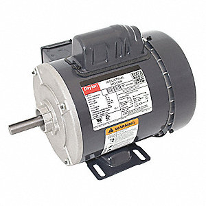 1/3 HP General Purpose Motor,Capacitor-Start,1140 Nameplate RPM,Voltage 115/208-230,Frame 56