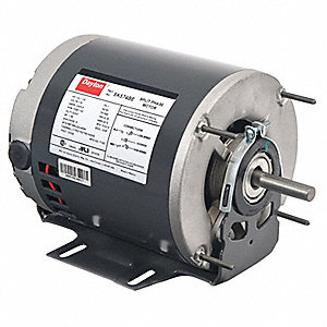 1/3, 1/6 HP General Purpose Motor,Split-Phase,1725/1140 Nameplate RPM,Voltage 115,Frame 56Z