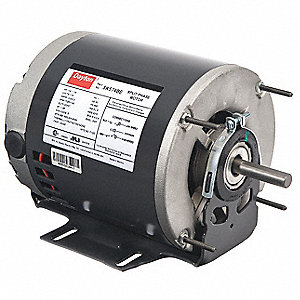 Dayton Gp Mtr Split Ph Odp 1 4 Hp 1725 Rpm 56z 5k574