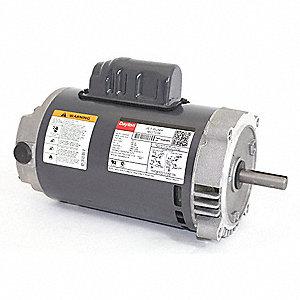 Dayton 1 hp jet pump motor capacitor start 3450 for Dayton capacitor start motor