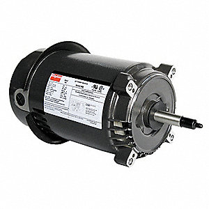 3/4 HP Jet Pump Motor, Capacitor-Start, 3450 Nameplate RPM, 115/230 Voltage, 56J Frame