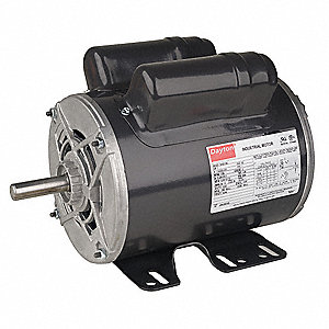 Dayton 1 hp general purpose motor capacitor start run 1725 for Dayton capacitor start motor
