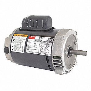Dayton 1 3 hp jet pump motor capacitor start 3450 for 1 hp jet pump motor