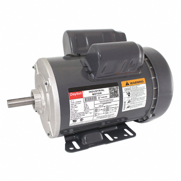 Dayton 2 hp general purpose motor capacitor start run 3450 for General motors extended warranty plans