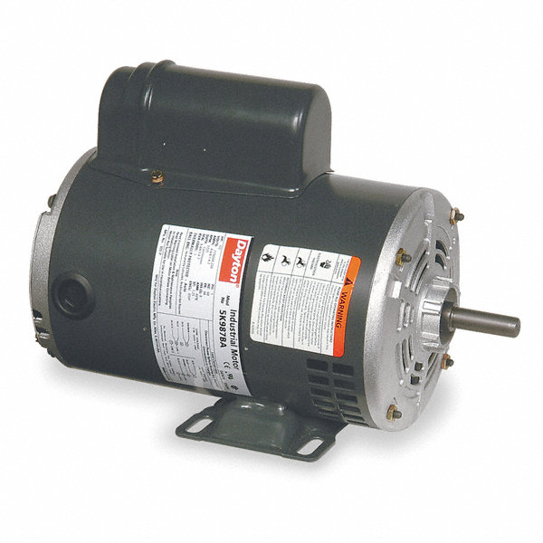 Dayton 1 2 hp general purpose motor capacitor start 3450 for General motors extended warranty plans